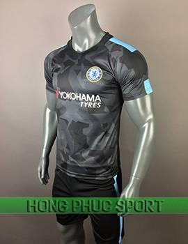 Áo đấu Chelsea 2017 2018 mẫu thứ 3 màu xám đen