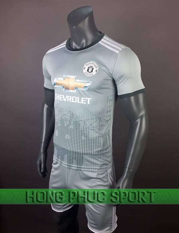 Bộ quần áo đấu Manchester United 2017 2018 sân kháchmẫu thứ 3