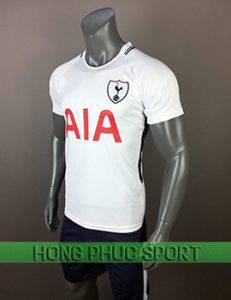 mẫu áo đấu Tottenham sân nhà 2017 2018 màu trắng