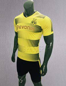 Áo đấu Dortmund 2017 2018 sân nhà màu vàng phối đen