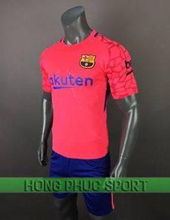 Mẫu áo thủ môn Barcelona 2017 2018 màu hồng