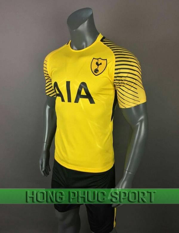 Bộ quần áo thủ môn Tottenham 2017 2018 màu vàng