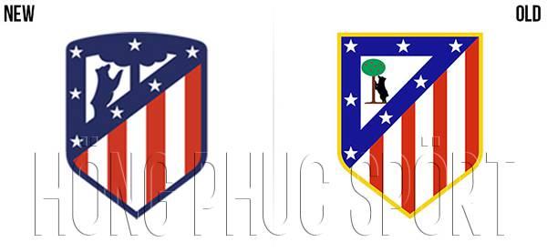 Logo áo đấu Atletico 2017 2018 sân nhà