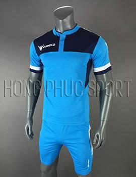 Bộ quần áo Eureka xanh biển không logo 2017 2018