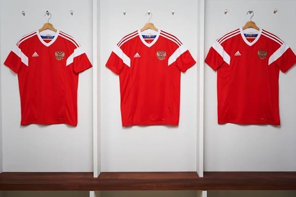 Bộ quần áo tuyển Nga World Cup 2018 màu đỏ