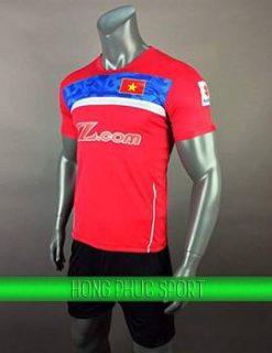 Áo training tuyển Việt Nam 2017-2018 màu đỏ