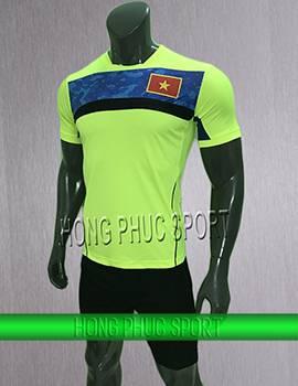 Mẫu áo training Việt Nam Sea Game 2017 2018 xanh chuối