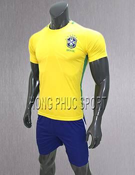 Áo đấu tuyển Brazil sân nhà 2017 2018 màu vàng