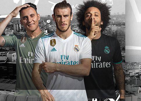 Áo đấu Real Madrid 2017 2018 banner