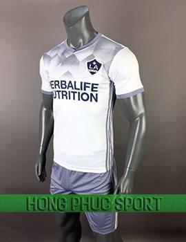 Mẫu áo La Galaxy phiên bản Fan 2017 2018 màu trắng
