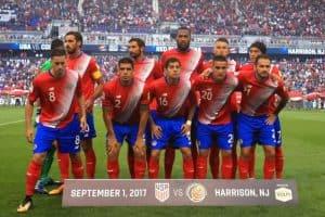 Áo đấu Costa Rica World Cup 2018 màu đỏ