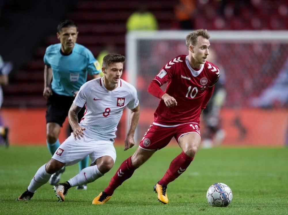 Áo đấu đội tuyển Đan Mạch World Cup 2018