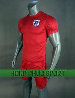 Mẫu áo đấu tuyển Anh World Cup 2018 sân khách màu đỏ