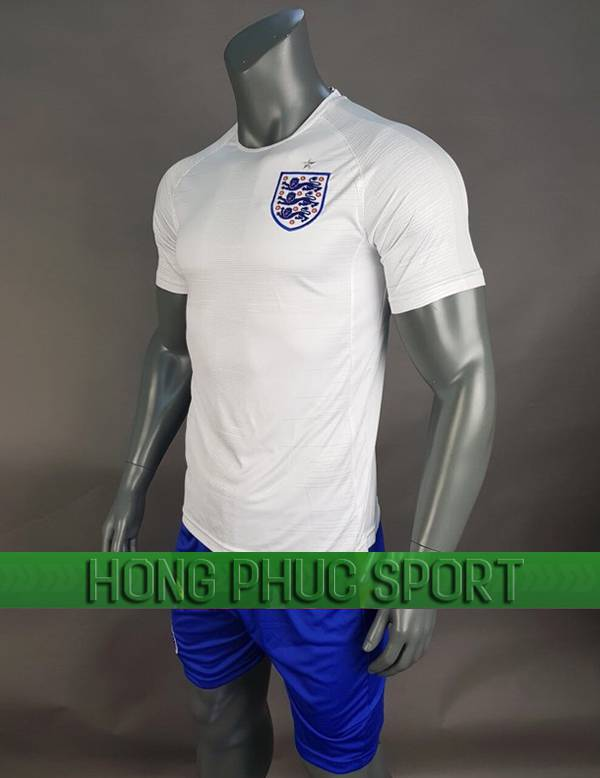 Bộ quần áo đấu tuyển Anh World Cup 2018 sân nhà màu trắng