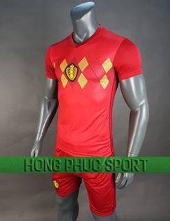 Mẫu áo đấu tuyển Bỉ World Cup 2018 sân nhà màu đỏ