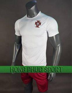 Mẫu áo Bồ Đào Nha World Cup 2018 mầu trắng sân khách