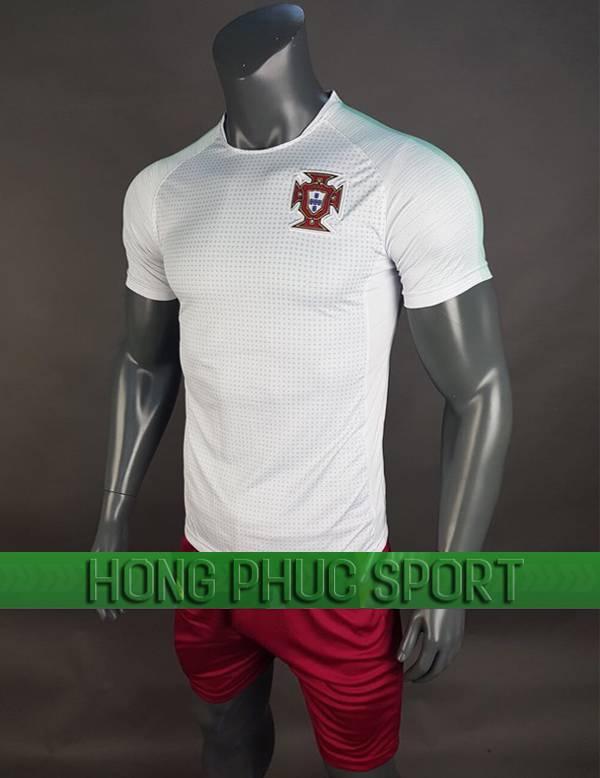 Bộ quần áo Bồ Đào Nha World Cup 2018 mầu trắng