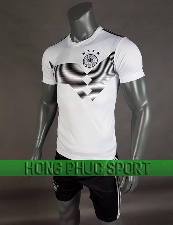 Mẫu áo tuyển Đức World Cup 2018 sân nhà màu trắng