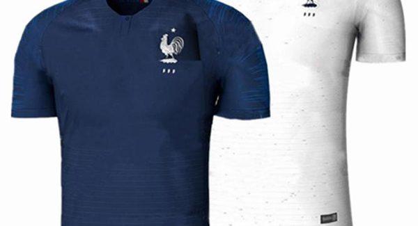 Mẫu áo đấu tuyển Pháp World Cup 2018