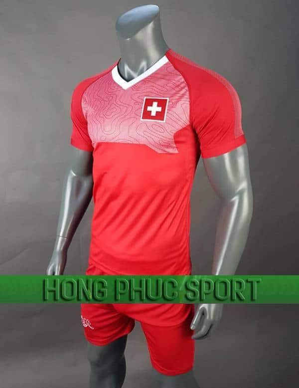 Bộ quần áo đấu tuyển Thụy Sĩ World Cup 2018 mầu đỏ