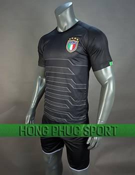 Mẫu áo thủ môn tuyển Italia 2018 2019 mầu đen