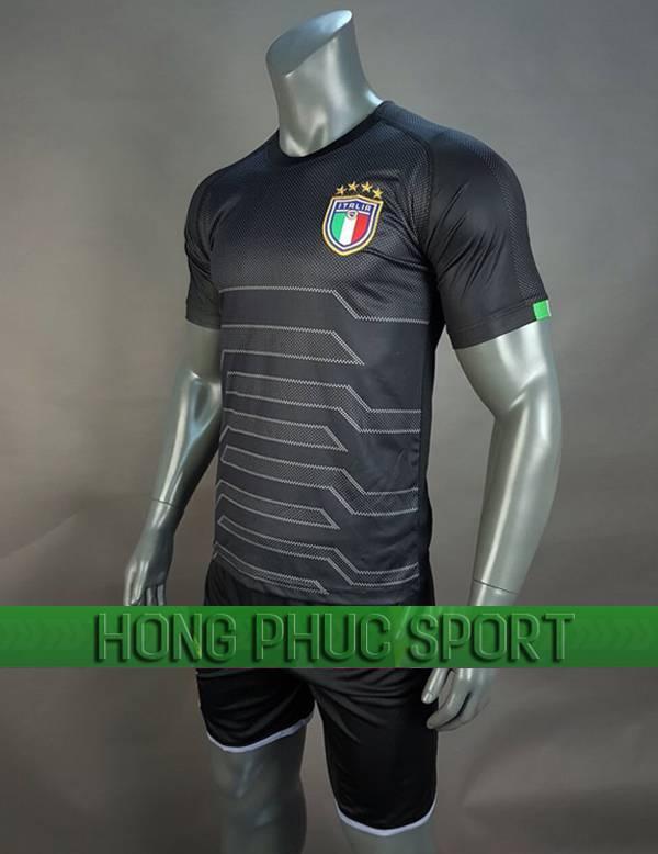 Bộ quần áo thủ môn tuyển Italia 2018 2019 mầu đen