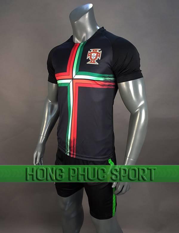 Bộ quần áo Bồ Đào Nha World Cup 2018 mầu đen