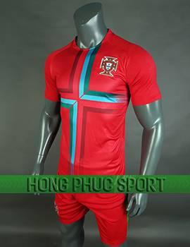 Đồ đá banh áo Bồ Đào Nha World Cup 2018 mầu đỏ