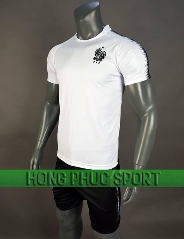 Bộ quần áo tuyển Pháp World Cup 2018 mầu trắng
