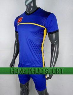 Mẫu áo training U23 Việt Nam AFC Cup 2018 mầu xanh