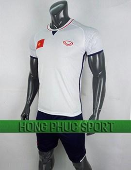 Đồ đá banh áo tuyển Việt Nam AFC Cup 2018 sân khách màu trắng
