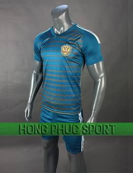 Mẫu áo thủ môn tuyển Nga World Cup 2018 mầu xanh
