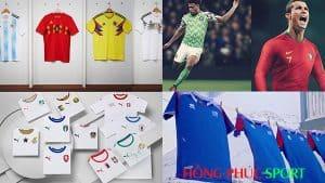 Thương hiệu nào có áo World Cup 2018 tốt nhất