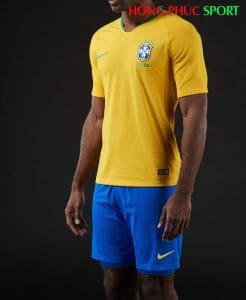 áo đấu sân nhà Brazil World Cup 2018