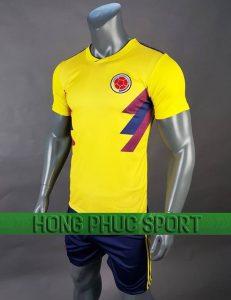 Chấm điểm bộ quần áo Colombia world cup 2018 sân nhà màu vàng