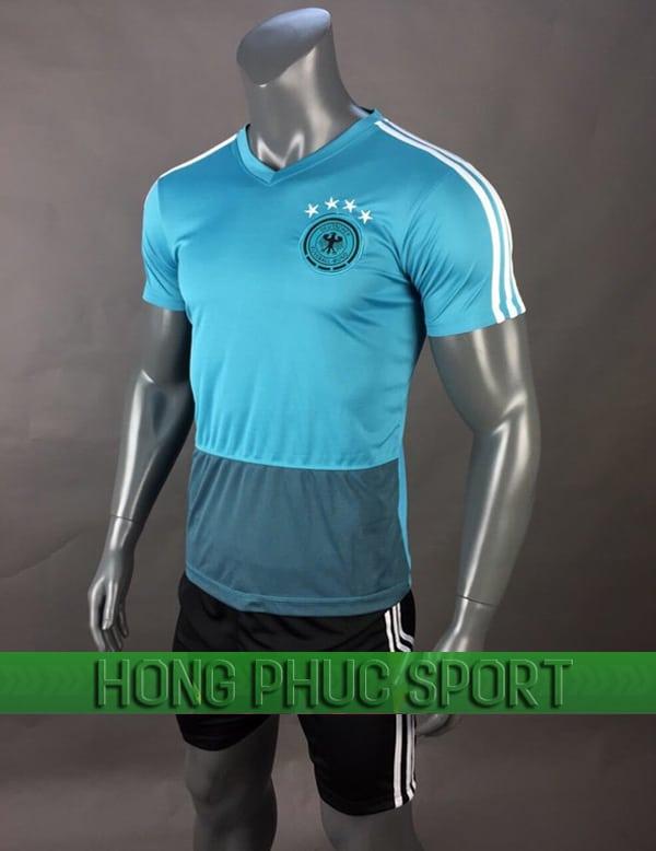 Bộ quần áo training tuyển Đức World Cup 2018 mầu xanh