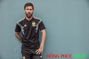 Siêu sao Messi nổi bật trong áo đấu đội tuyển Argentina