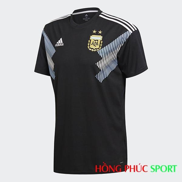 Áo đấu sân khách đội tuyển Argentina (phía ngực áo)