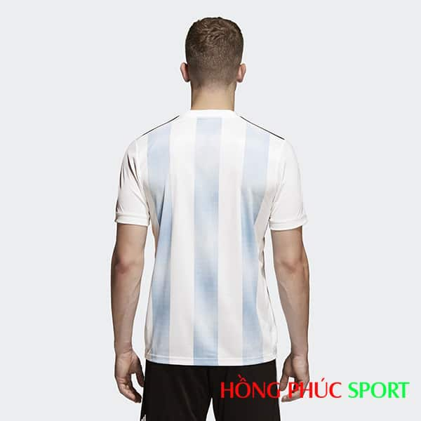 Bộ áo đấu sân nhà đội tuyển Argentina (nhìn phía sau)