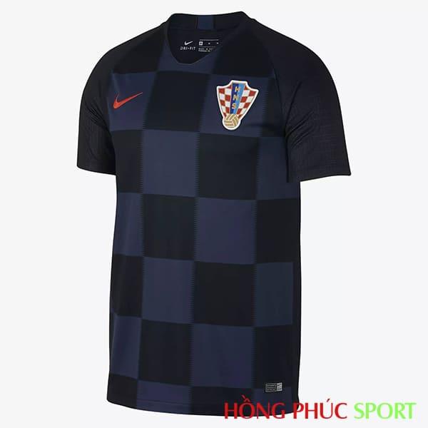 Áo đấu sân khách đội tuyển Croatia (phía ngực áo)