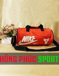 Túi trống màu cam Nike