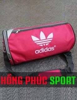 Mẫu túi trống thể thao Adidas màu hồng