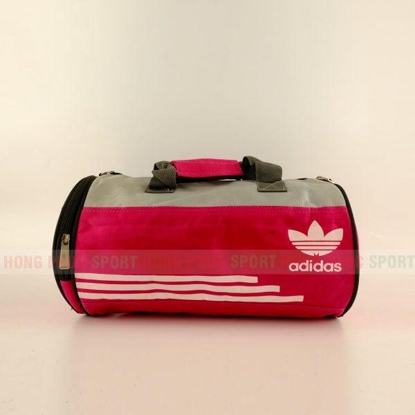 Túi trống thể thao Adidas màu hồng