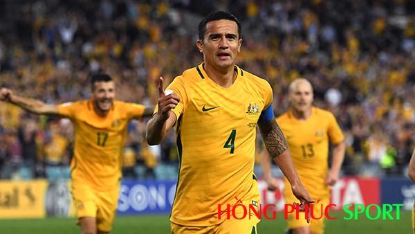 Áo đấu của đội tuyển Australia