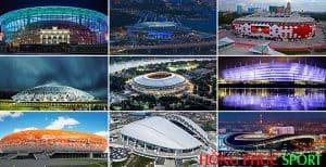 Các sân vận động phục vụ World Cup 2018