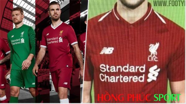 Hình ảnh mới nhất của áo đấu Liverpool 2018 2019 sân nhà mầu đỏ