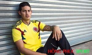 Jame Rodriguez trong màu áo đội tuyển quốc gia Colombia