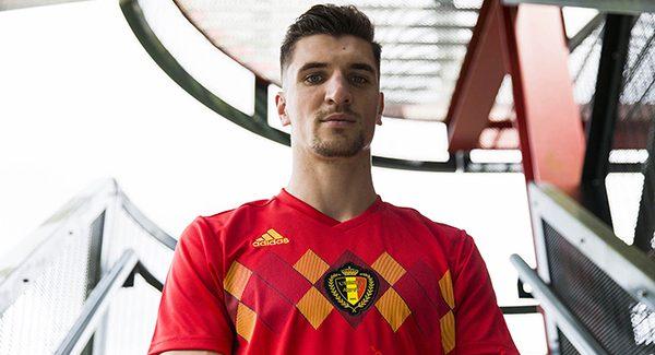 Mẫu áo đấu sân nhà đội tuyển Bỉ World Cup 2018