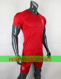 Bộ áo tuyển Bồ Đào Nha sân nhà World Cup 2018 màu đỏ