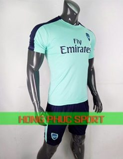 áo đấu Arsenal mẫu thứ ba 2018 2019 màu xanh ngọc